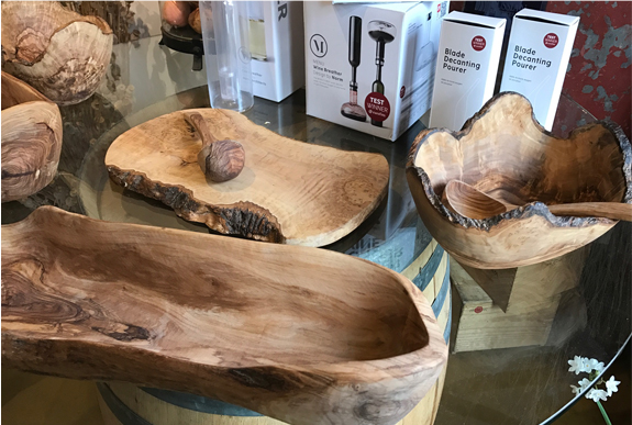Olive Wood Catering Salad Bowls